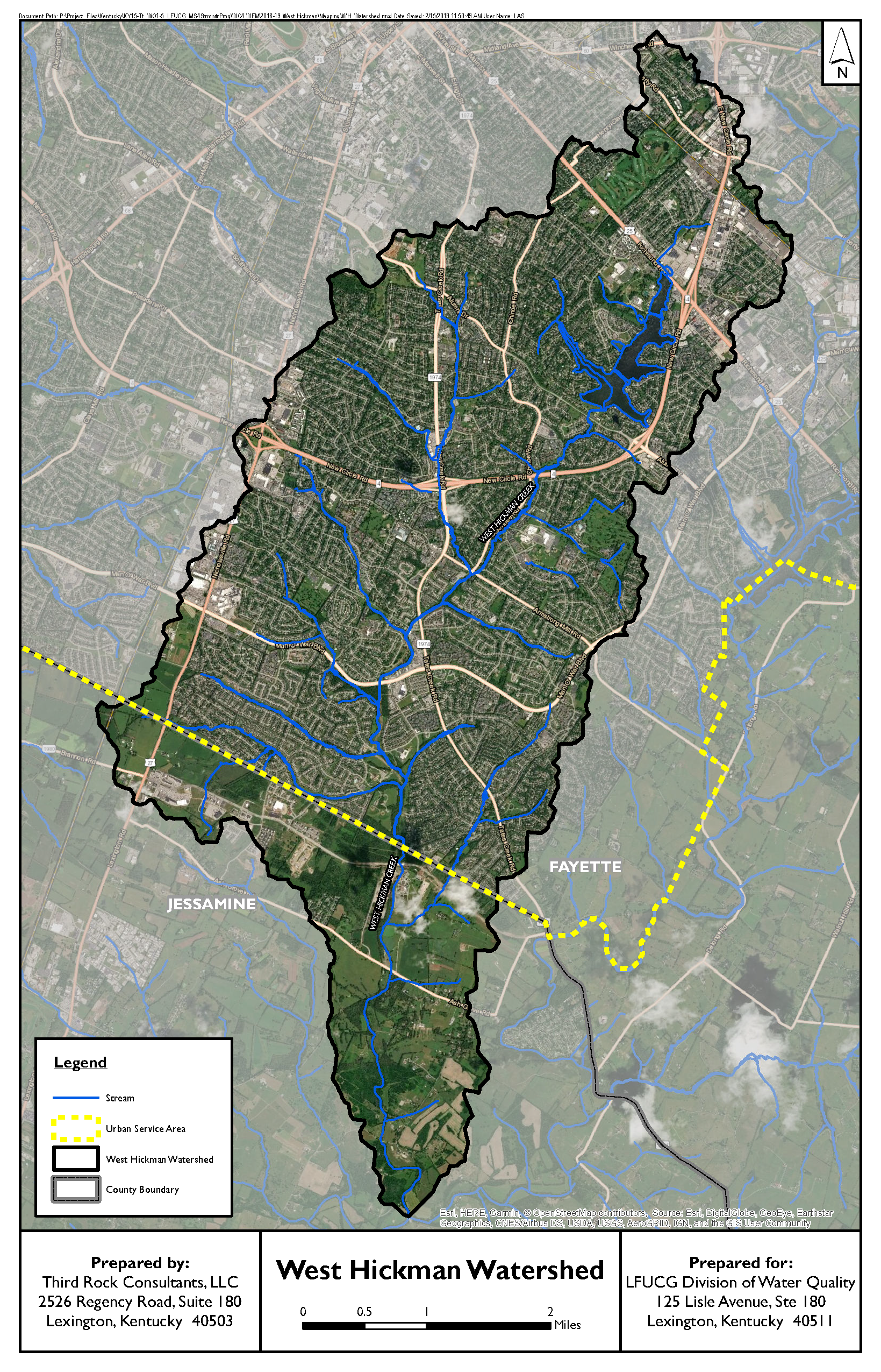 West Hickman Watershed